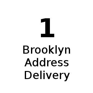 1 Brooklyn Address Delivery