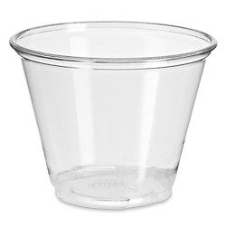 Clear Plastic Cocktail Cups 40 Cups 9oz
