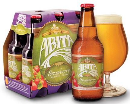 Abita Strawberry Harvest Lager 12oz - 6 Pack