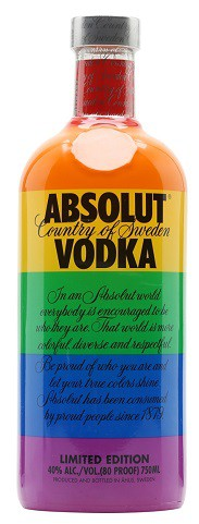 Absolut Original Limited Edition Pride 1L