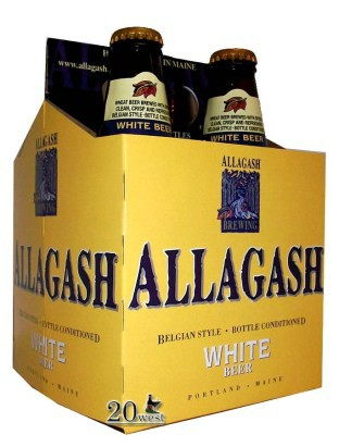 Allagash White Ale 12oz - 4 Pack