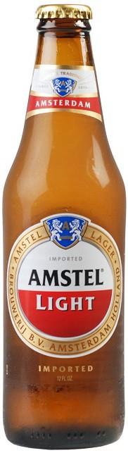 Amstel Light Beer 12oz - 24 Pack