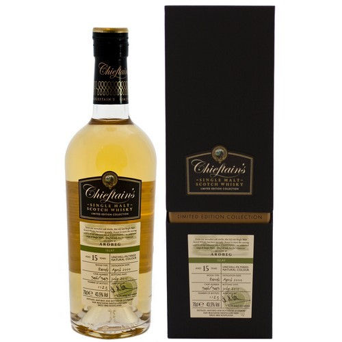 Chieftains - Ardbeg 15 Yr 43.5abv (750ml)