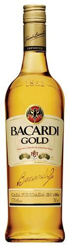 Bacardi - Rum Dark Gold Puerto Rico (1L)