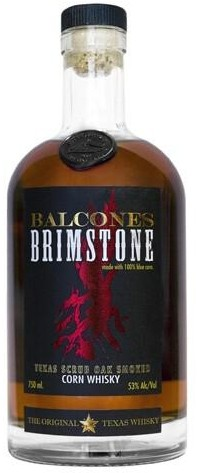 Balcones - Brimstone Texas Scrub Oak Smoked Corn Whiskey (750ml)