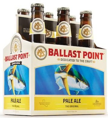 Ballast Point Pale Ale Original 12oz - 6 Pack