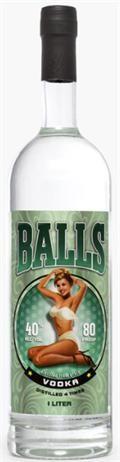 Balls - Vodka (1L)