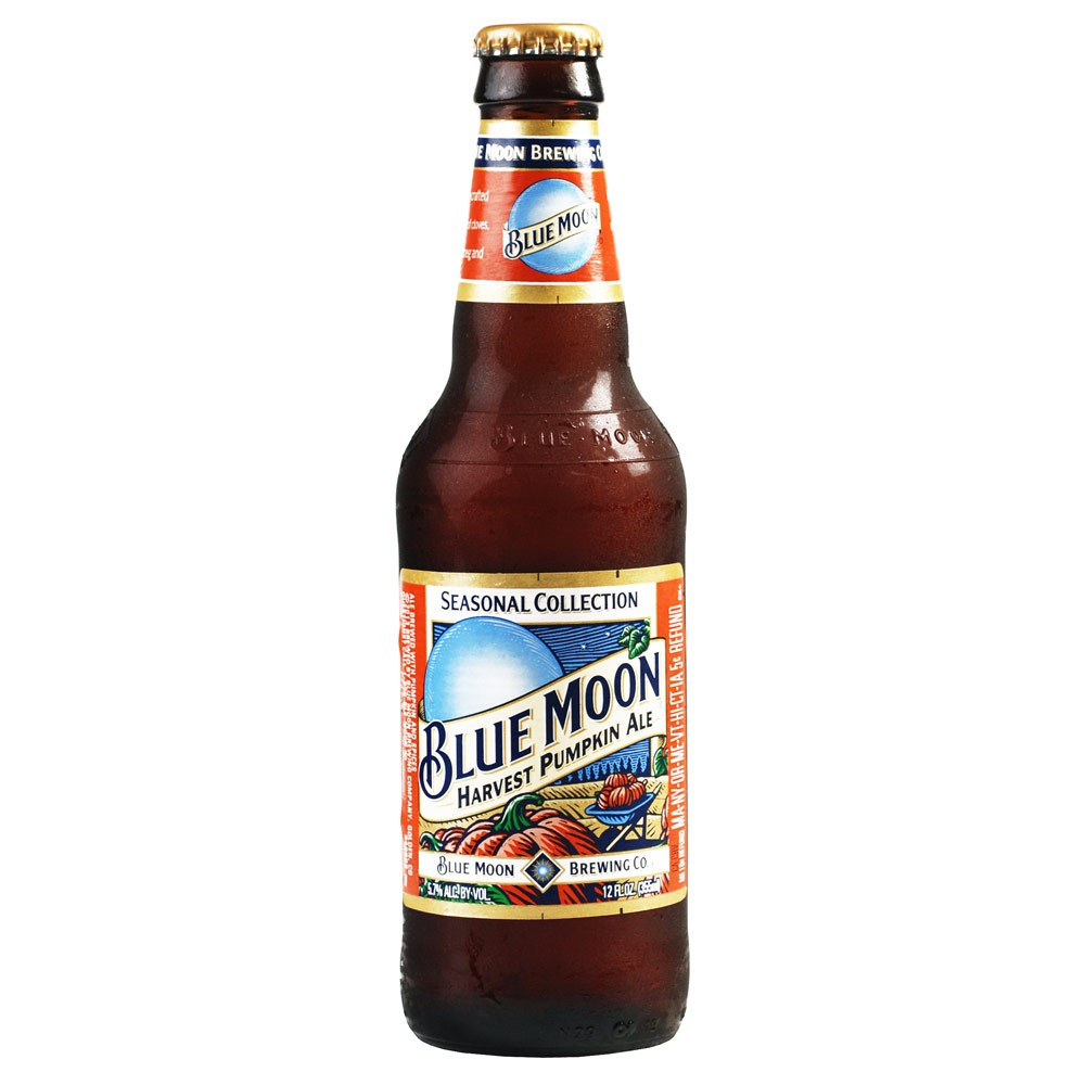 Blue Moon - Pumpkin Harvest 12 Bottles