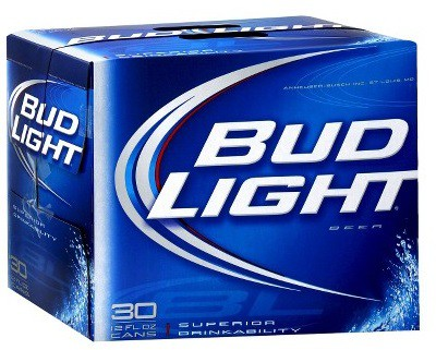 Bud Light 12oz - 30 Cans