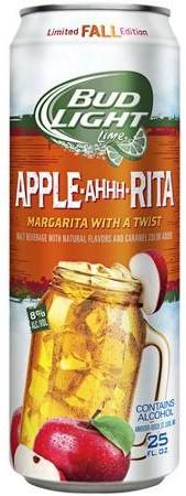 Bud Lite Apple-A-Rita 24oz - 4 Pack