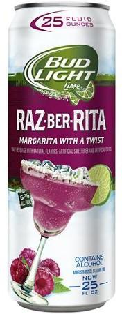 Bud Lite Raaz-Ber-Rita 24oz - 4 Pack