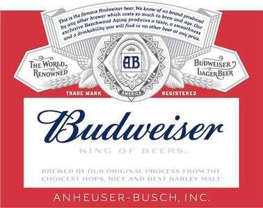 Budweiser, 15.5 Gal - HALF BARREL Keg