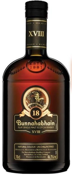 Bunnahabhain - 18 Year Old Scotch Malt Whisky (750ml)