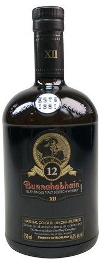 Bunnahabhain - 12 year old Islay Single Malt Whisky (750ml)