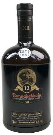 Bunnahabhain - 12 year old Islay Single Malt Whisky (750ml)