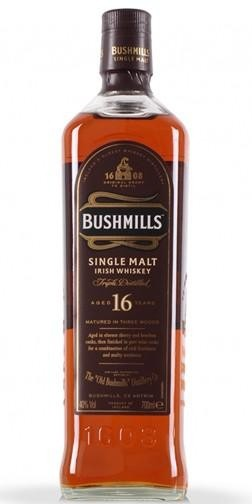 Bushmills - 16 Year Single Malt Irish Whiskey (750ml)