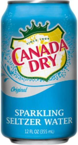 Canada Dry Seltzer Water 2L 3 Bottles