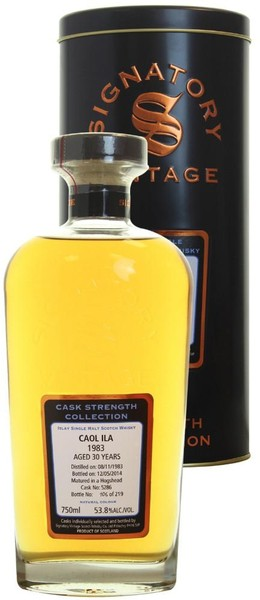Signatory Cask Strength - Caol Ila 30 Year 1983 (750ml)
