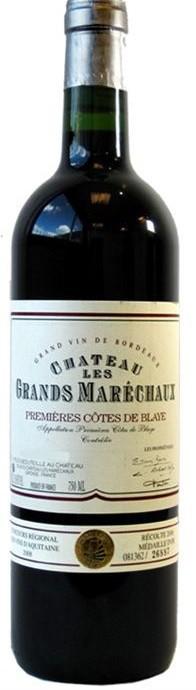 Chateau Les Grands Marechaux - Blaye Cotes de Bordeaux (750ml)