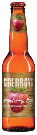 Cider Boys - Strawberry Magic 12oz - 12 Bottles