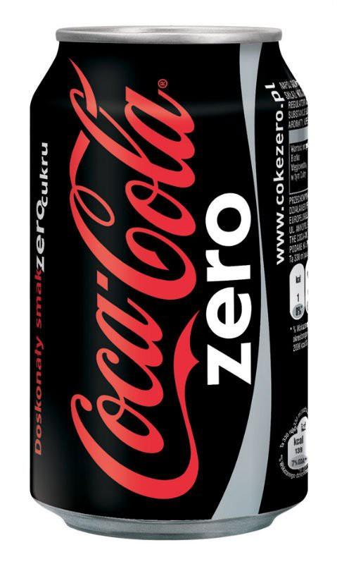 Coke Zero 24 Cans