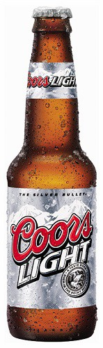 Coors Light 12oz - 12 Bottles