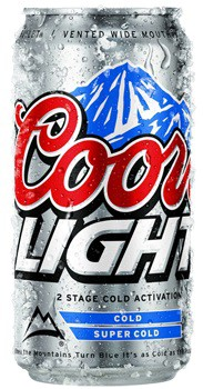 Coors Light 12oz - 6 Cans