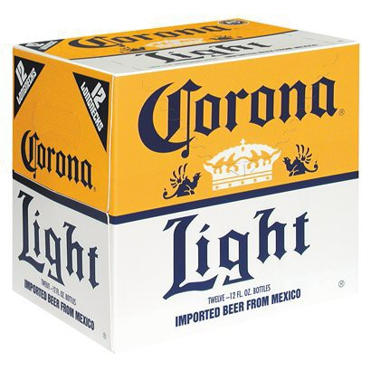 Corona Light Bottles 12oz - 24 Pack