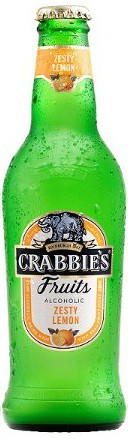 Crabbies - Fruit Lemonade 12oz - 4 Pack
