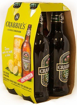 Crabbies - Alcoholic Ginger Beer 11.2oz - 4 Pack