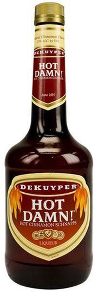 Dekuyper - Hot Damn Cinnamon Schnapps (1L)