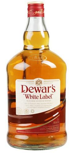 Dewars - White Label Blended Scotch Whisky (1.75L)