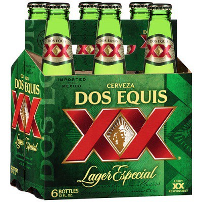 Dos Equis Lager 12oz - 6 Pack