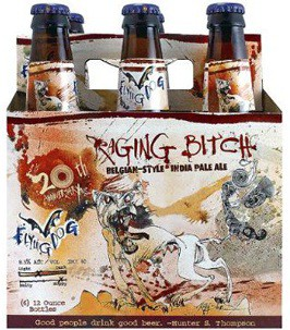 Flying Dog - Raging Bitch Belgian Style IPA 12oz - 6 Pack