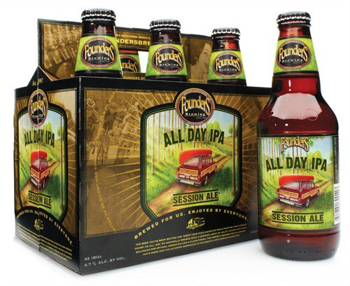 Founders - All Day IPA Session Ale 12oz - 6 Pack
