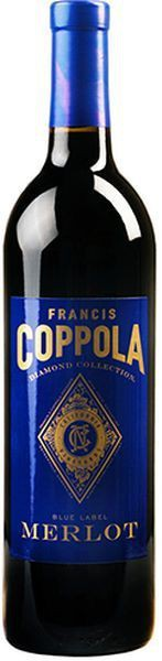 Francis Coppola - Diamond Series Merlot California Blue Label (750ml)
