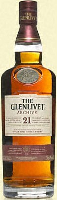 "The Glenlivet 21 Years Old ""Archive"" Scotch 750ml"