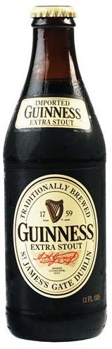 Guinness Extra Stout 12oz - 12 Bottles