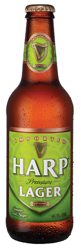 Harp Lager 12oz 12 Bottles