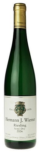 Hermann J. Wiemer - Riesling Semi-Dry (750ml)