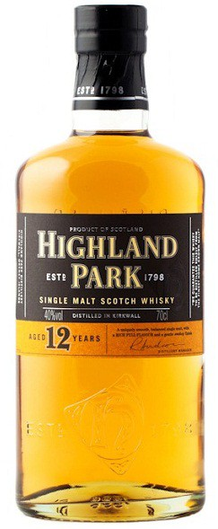 Highland Park - 12 Years Single Malt Scotch (750ml)