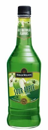Hiram Walker - Sour Apple Schnapps (1L)