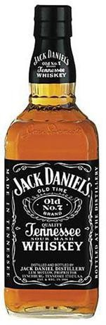 Jack Daniels - Whiskey Sour Mash Old No. 7 Black Label (750ml)
