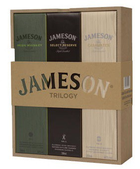 Jameson Trilogy Combo (3x200ml)