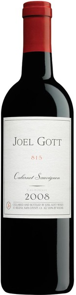 Joel Gott - Blend No 815 Cabernet Sauvignon California (750ml)
