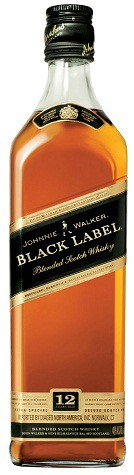 Johnnie Walker - Black Label 12 year Scotch Whisky (1L)