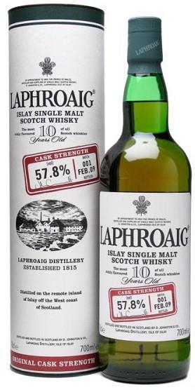 Laphroaig - Cask Strength Single Malt (750ml)