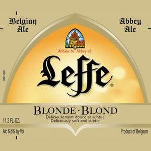 Leffe Blonde Belgian 12oz - 12 Bottles
