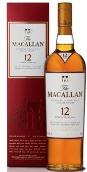 Macallan - 12 Year Highland Single Malt Scotch (750ml)