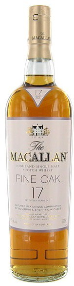 Macallan - Single Malt Scotch 17 Year Highland Fine Oak (750ml)